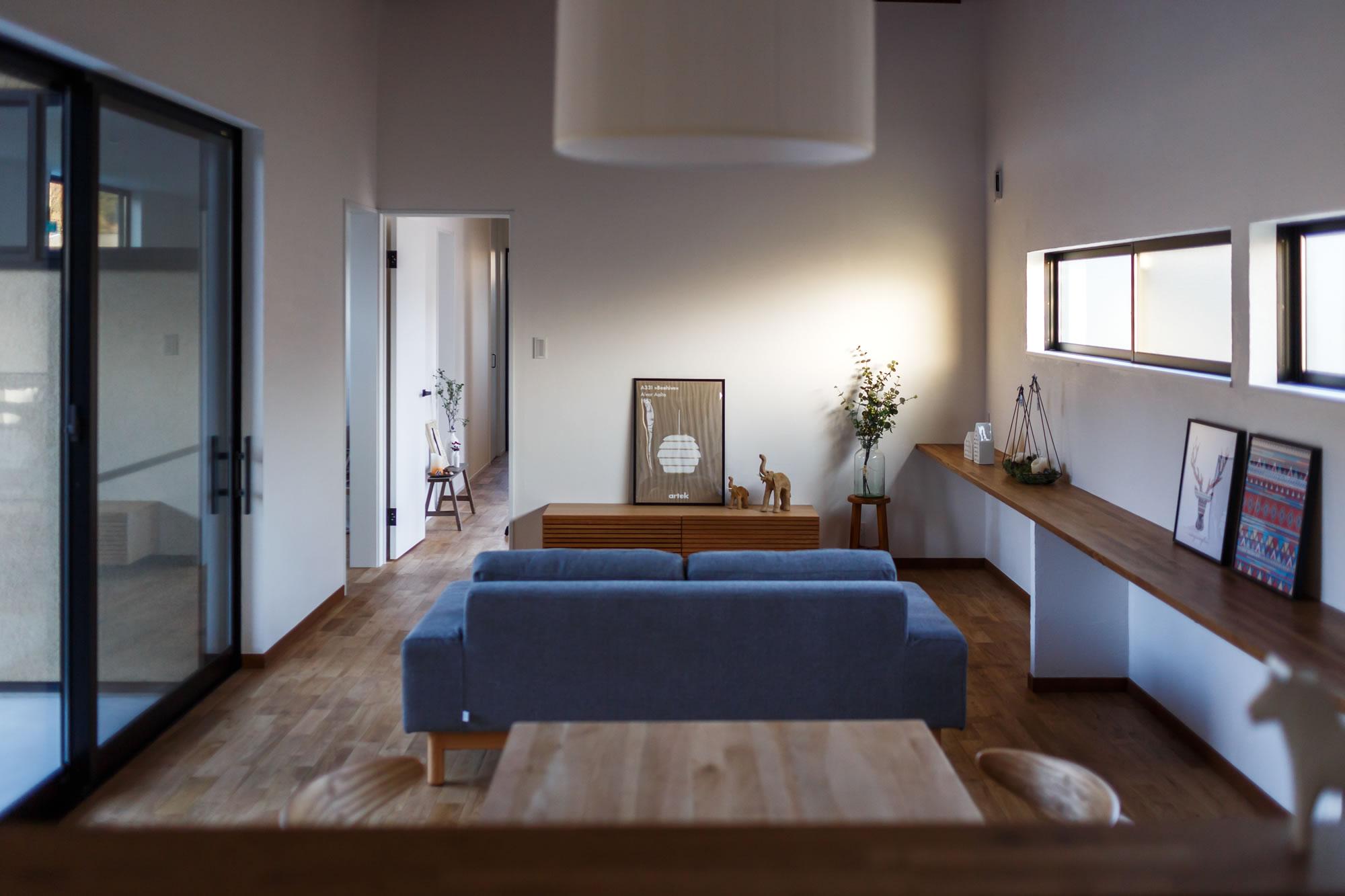 新築施工事例に「のんびりを楽しみたくなる家」を追加しました。