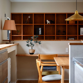 新築施工事例に「空と緑と会話する家」を追加しました。